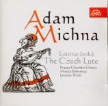 MICHNA Z OTRADOVIC - Musica Bohemica - Le luth tchèque