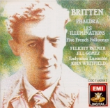 BRITTEN - Palmer - Phaedra (Lowell - Racine), cantate dramatique pour mezz