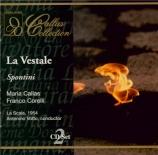 SPONTINI - Votto - Live Scala di Milano, 7 - 12 - 1954 Live Scala di Milano, 7 - 12 - 1954