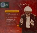 BERLIOZ - Davis - La Damnation de Faust