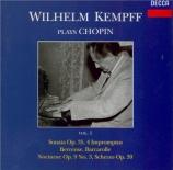 CHOPIN - Kempff - Sonate pour piano n°2 en si bémol mineur op.35