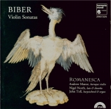 BIBER - Romanesca - Sonates pour violon et continuo
