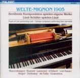 Welte-Mignon 1905