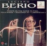 BERIO - Berio - Folk songs