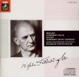 MOZART - Furtwängler - Symphonie n°40 en sol mineur K.550 (Import Japon) Import Japon