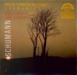 SCHUMANN - Zenaty - Sonate pour violon et piano n°1 op.105