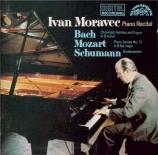 BACH - Moravec - Fantaisie chromatique et fugue, pour clavier en ré mine