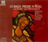 BACH - Leonhardt - Messe en si mineur, pour solistes, chœur et orchestre