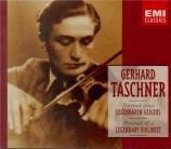 Gerhard Taschner : Portrait