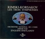 RIMSKY-KORSAKOV - Svetlanov - Symphonies (intégrale)