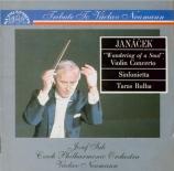 JANACEK - Neumann - Concerto pour violon 'Putovani dusicky' (Pélerinage