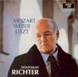 MOZART - Richter - Sonate pour piano n°5 en sol majeur K.283 (K6.189h)