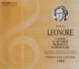 BEETHOVEN - Leitner - Léonore (1805), opéra op.72a H.109 live Bregenz 1960