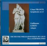 FRANCK - Bartholomee - Symphonie pour orchestre enrémineur FWV.48