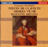 COUPERIN - Dreyfus - Second livre de pièces de clavecin : septième ordre import Japon