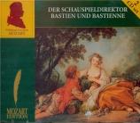 MOZART - Koch - Der Schauspieldirektor (Le directeur de théâtre), singsp