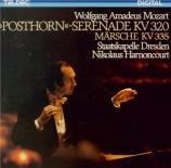 MOZART - Harnoncourt - Sérénade n°9, pour orchestre en ré majeur K.320 '