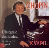 CHOPIN - Kvapil - Douze études pour piano op.10