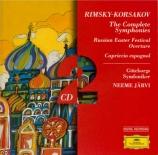 RIMSKY-KORSAKOV - Järvi - Symphonies (intégrale)