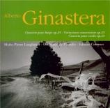 GINASTERA - Langlamet - Concerto pour harpe op.25