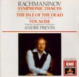 RACHMANINOV - Previn - Danses symphoniques pour orchestre op.45