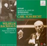 BEETHOVEN - Backhaus - Concerto pour piano n°5 en mi bémol majeur op.73