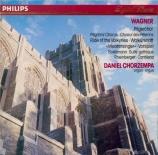 WAGNER - Chorzempa - Transcriptions pour orgue