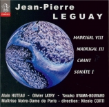 LEGUAY - Corti - Madrigal VIII, pour percussion
