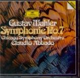 MAHLER - Abbado - Symphonie n°7 'Chant de la nuit'