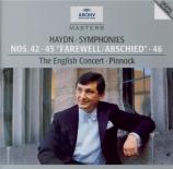 HAYDN - Pinnock - Symphonie n°46 Hob.I.46