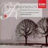 RACHMANINOV - Jansons - Symphonie n°1 en ré mineur op.13