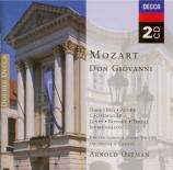 MOZART - Ostman - Don Giovanni K.527 (version de Prague) version de Prague