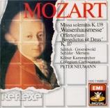 MOZART - Neumann - Missa solemnis en do mineur, pour solistes, choeur et