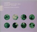 SCHUBERT - Borodin Quartet - Quatuor à cordes n°10 op.posth.125 n°1 D.87