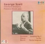 SCHUMANN - Szell - Symphonie n°2 pour orchestre en do majeur op.61