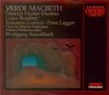 VERDI - Sawallisch - Macbeth, opéra en quatre actes (version italienne) live Salzburg, 7 - 8 - 1964