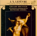 LEFEVRE - Brunner - Concertos pour clarinette