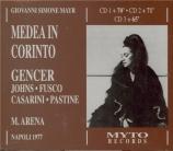 MAYR - Arena - Medea in Corinto (Live Napoli 20 - 3 - 1977) Live Napoli 20 - 3 - 1977