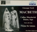 VERDI - De Sabata - Macbeth, opéra en quatre actes (version italienne) live Scala 7 - 12 - 1952