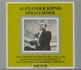 Lieder Recordings