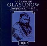 GLAZUNOV - Järvi - Symphonie n°4 op.48