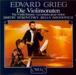 GRIEG - Sitkovetsky - Sonate pour violon et piano n°2 op.13