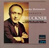 BRUCKNER - Horenstein - Symphonie n°7 en mi majeur WAB 107