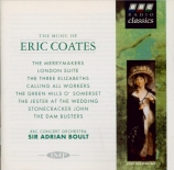 COATES - Boult - The merrymakers, overture miniature pour orchestre