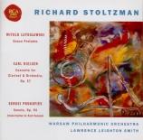LUTOSLAWSKI - Stoltzman - Préludes de danses