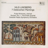 LINDBERG - Wickman - Seven Dalecarlian paintings