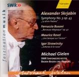 SCRIABINE - Gielen - Symphonie n°3 op.43 'Le divin poème'