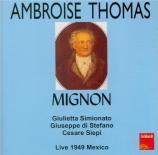 THOMAS - Picco - Mignon (live Mexico 28 - 6 - 1949 chanté en italien) live Mexico 28 - 6 - 1949 chanté en italien