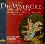 WAGNER - Schmidt-Isserst - Die Walküre WWV.86b : acte 1 Live Hamburg 1953