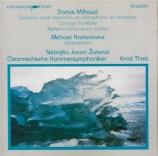 MILHAUD - Theis - Concerto pour marimba, vibraphone et orchestre op.278